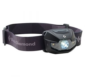 Image of a black headlamp for hunting