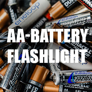 aa battery flashlight