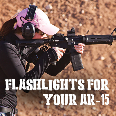 flashlights for AR-15