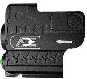 Ade Advanced Optics HG55 Strobe Laser Flashlight Combo Sight for Pistol Handgun, Green