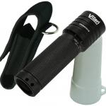 Vizeri LED Tactical Flashlight with Focusing Lens, Cree XML High Lumen T6 Military Quality