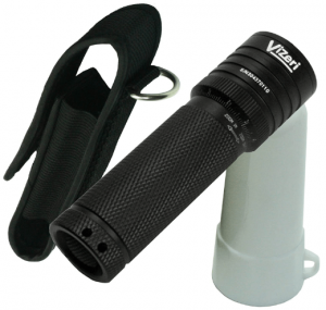Vizeri LED Tactical Flashlight with Focusing Lens, Cree XML High Lumen T6 Military Quality