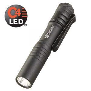 Image of StreamLight Cree flashlight in black.
