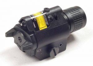 An image of Ade Advanced Optics Laser Light in black color.