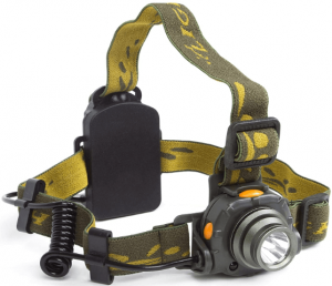 Lightess LED Headlamp Flashlight Lightweight Head Lamps Motion Sensor Headlight