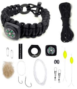 Last Man The Ultimate Paracord Survival Kit Bracelet Survival Gear