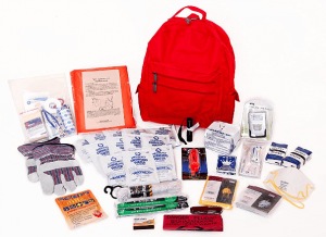 1 Person Deluxe Survival Kit Ideal for Earthquake, Evacuation, Emergency Disaster Preparedness 72 Hour Kits for Home, Work or Auto: 1 Person