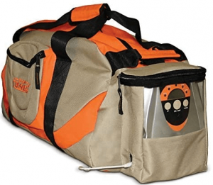 "Scent Crusher Ozone Gear Bag, Duffle Bag, Eliminates Odor Before and After the Hunt, 33.5"" L x 15.7"" W x 13.3""H"