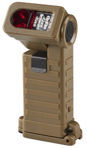 Streamlight 14975 Sidewinder Boot Light with Two AA Alkaline Batteries, Coyote