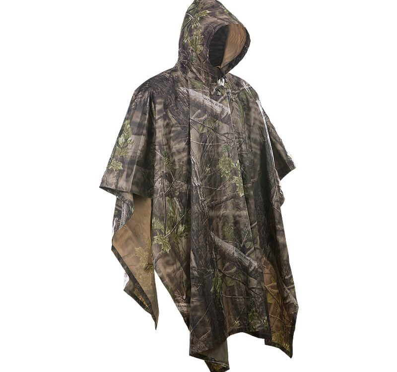 Survival Poncho, camouflage