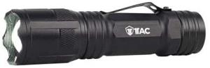 1TAC TC1200 Pro Tactical Flashlight CREE XML2 LED Emitters Magnetic Base 100,000 Hours Aircraft Grade Aluminum 5 Modes of Light- Low Medium High Strobe SOS Black