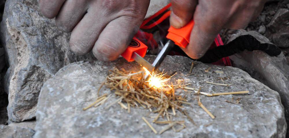 Fire starter close up