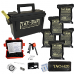 Image of the Tac-Bar Ready to eat tactical food ration, one set.