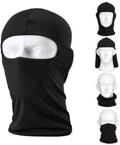 CAILEK Balaclava Ski Mask – Small - Black, 2-Pack