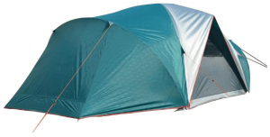 NTK LARAMI GT XT Tent up to 10 Persons, 10FT by 18FT by 6.9FT Height, 3 Season Camping 100% Waterproof 2500mm, Deluxe Family Extra Large, Easy Color-Coded Assembly.