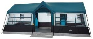 An image of the Northwest Tent in blue color, on a white background.